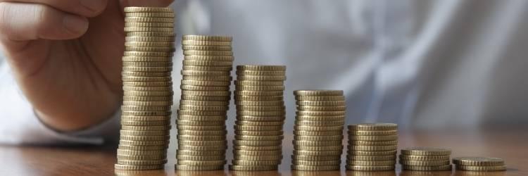 groeiend spaargeld