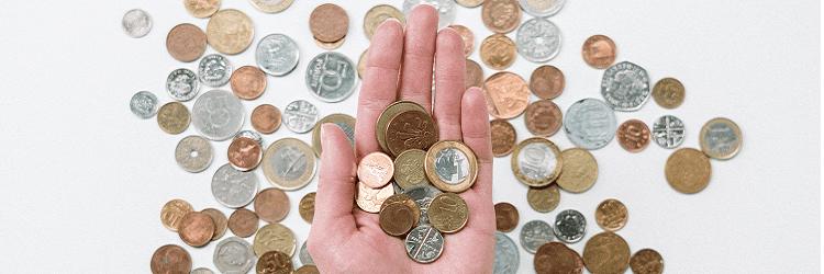 Ontmoediging contant geld gaat door