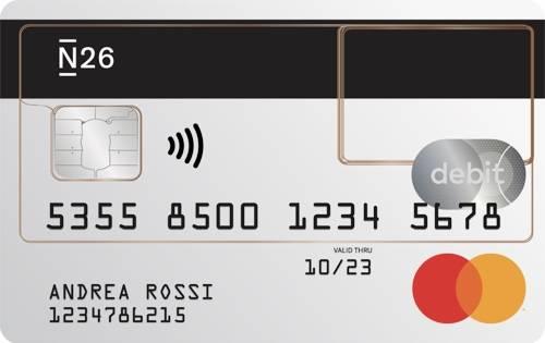 bankkaart van N26