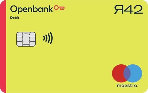bankkaart van openbank