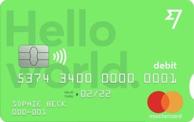 Wise bankkaart Mastercard